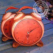 Для дома и интерьера handmade. Livemaster - original item desktop clock clock