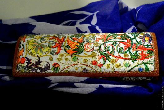 """Футляры, очечники ручной работы. Ярмарка Мастеров - ручная работа. Купить Футляр для очков """"Соцветие"""". Handmade. Разноцветный, очешник"""