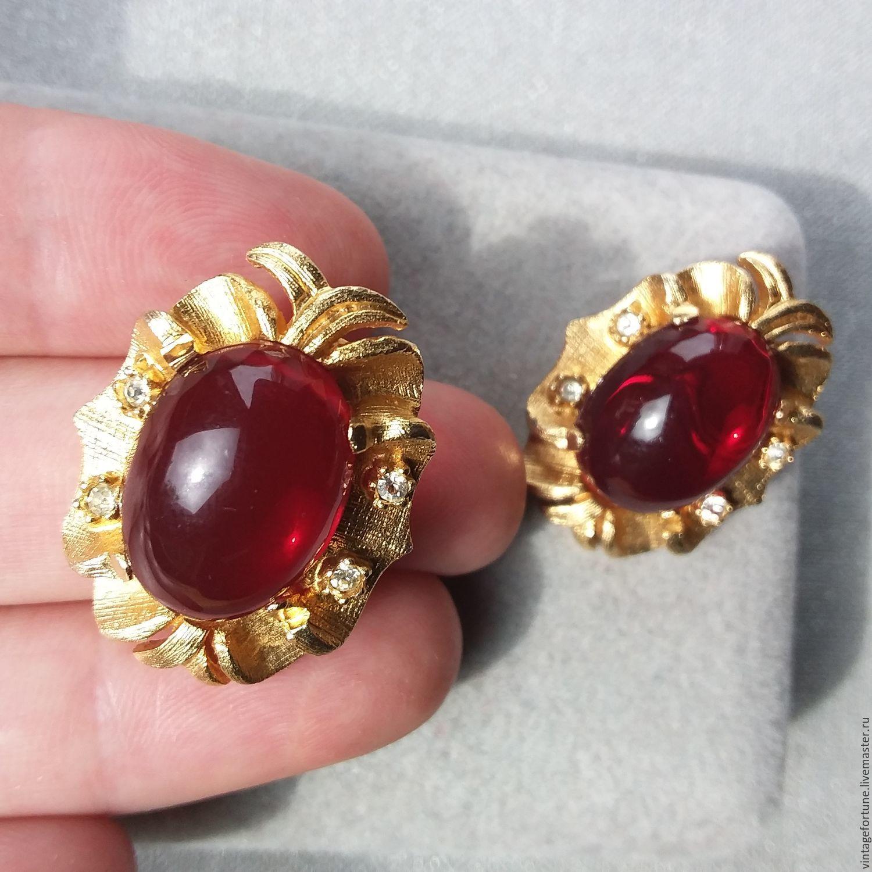 Order Vintage Clip On Earrings Tara 60 Years Usa