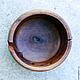 Вязание ручной работы. Деревянная миска из дуба  для пряжи. (16.9.5) Удобное вязание!. m-i-f. Ярмарка Мастеров.