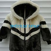 Одежда handmade. Livemaster - original item MUTTON COAT BOYS (WHOLE AND PIECES). Handmade.