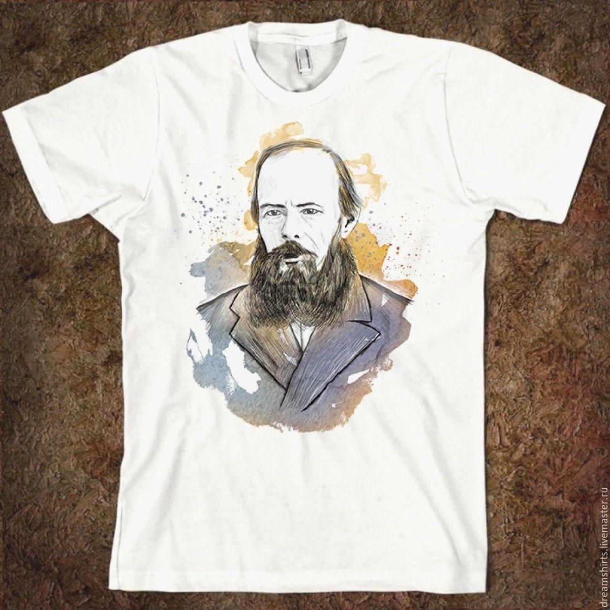 """Футболка хлопковая """"Достоевский"""", T-shirts, Moscow,  Фото №1"""