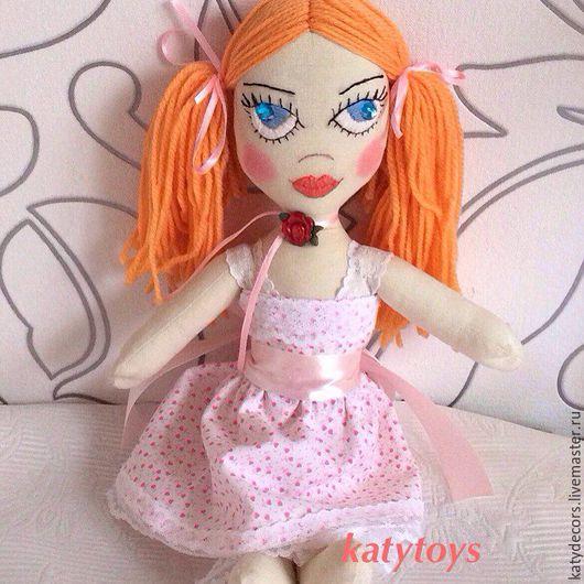 Куклы тыквоголовки ручной работы. Ярмарка Мастеров - ручная работа. Купить Интерьерная кукла на заказ , Кукла из ткани, Кукла в подарок. Handmade.