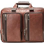 Сумки и аксессуары handmade. Livemaster - original item Men`s backpack Ford (brown). Handmade.