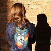 """Одежда ручной работы. Ярмарка Мастеров - ручная работа Арт-пальто """"Волчица"""". Handmade."""