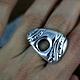 Кольца ручной работы. Суламифь. Кольцо из серебра 925 пр. LIZDesign. Ярмарка Мастеров. Авторская ручная работа, необычный подарок