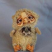 Куклы и игрушки ручной работы. Ярмарка Мастеров - ручная работа Сова Софа. Handmade.
