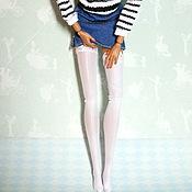 Куклы и игрушки ручной работы. Ярмарка Мастеров - ручная работа Чулки, колготки для кукол Барби, Fashion Royalty,   Monster High (Мон. Handmade.