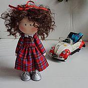 Куклы и игрушки ручной работы. Ярмарка Мастеров - ручная работа Куколка Люси. Handmade.