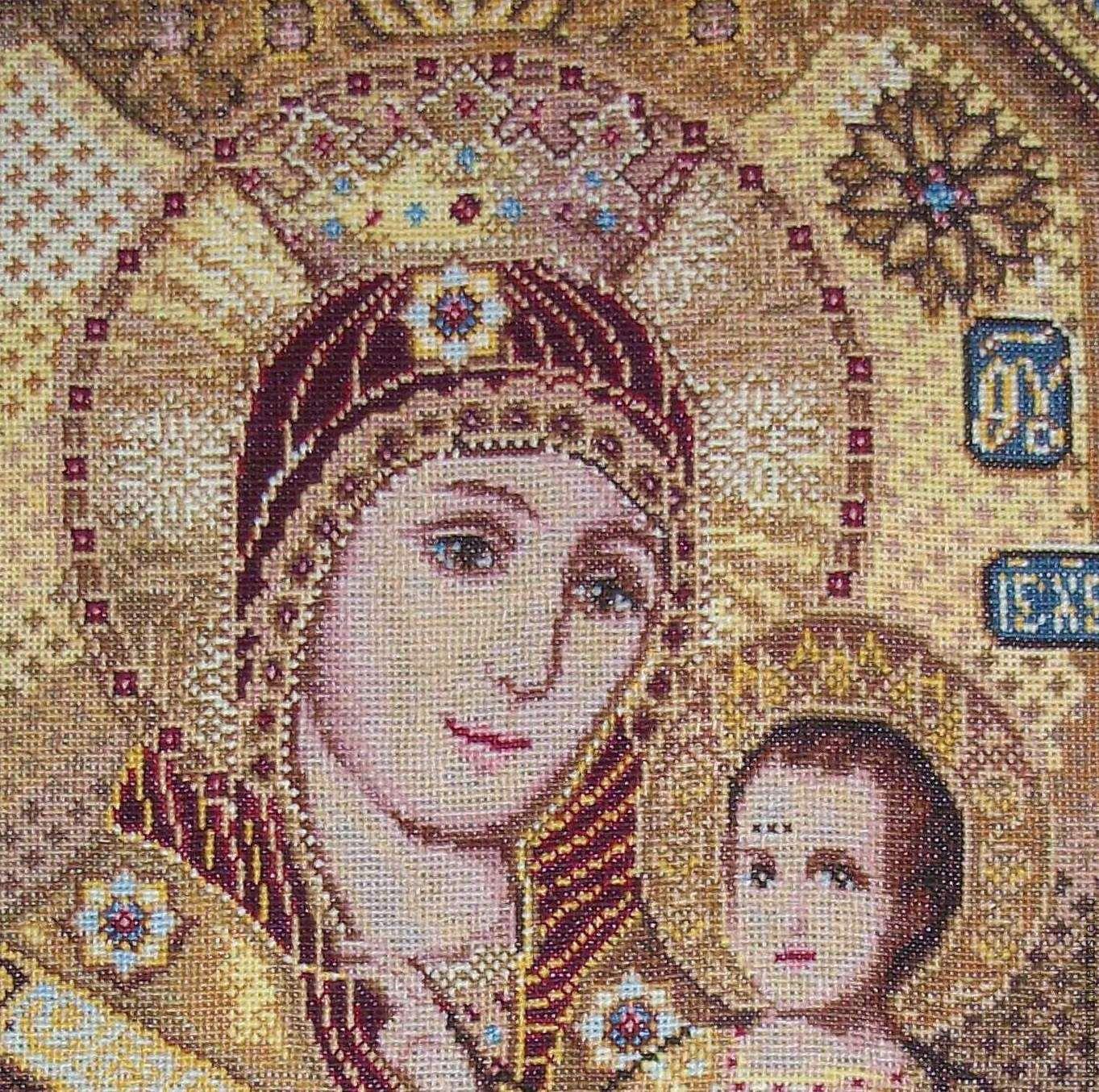 совместные иконы вышитые крестом фото схемы втором примере