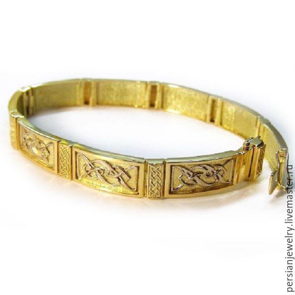Золотые браслеты авторской