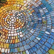 "handmade. Livemaster - original item Sketchpad 16x16sm ""Circle of the sun"". Handmade."