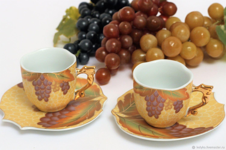 Винтаж: Чайная пара CHINA, Кружки винтажные, Рязань,  Фото №1