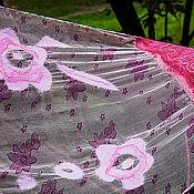 Аксессуары ручной работы. Ярмарка Мастеров - ручная работа палантин Розовые сны. Handmade.