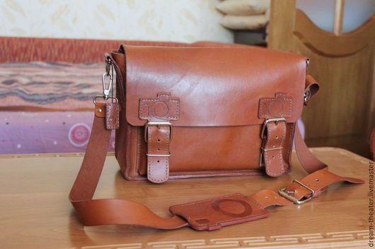 Женские сумки ручной работы. Ярмарка Мастеров - ручная работа. Купить сумка CANON. Handmade. Кожа, натуральная кожа