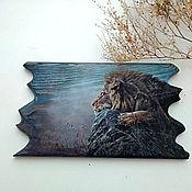 Картины и панно handmade. Livemaster - original item Panel