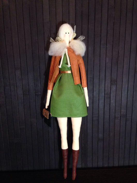 Куклы Тильды ручной работы. Ярмарка Мастеров - ручная работа. Купить Тильда модница. Handmade. Кукла интерьерная, украшение для интерьера