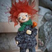 Куклы и игрушки ручной работы. Ярмарка Мастеров - ручная работа Сева Ежиков (домашний ангел). Handmade.