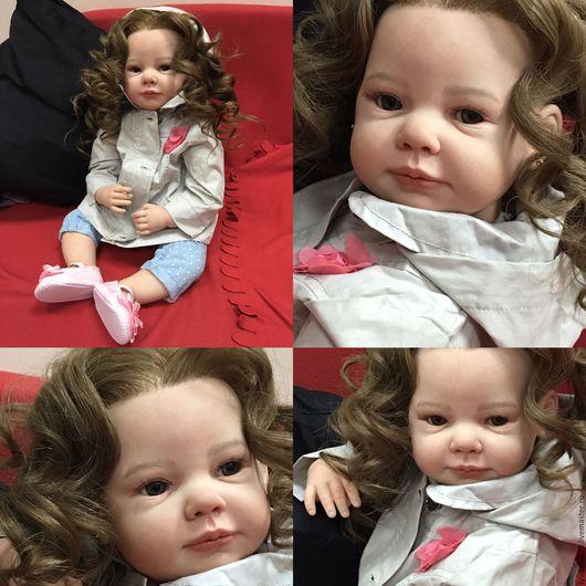 Куклы-младенцы и reborn ручной работы. Ярмарка Мастеров - ручная работа. Купить Кукла реборн Камилла.. Handmade. Кремовый