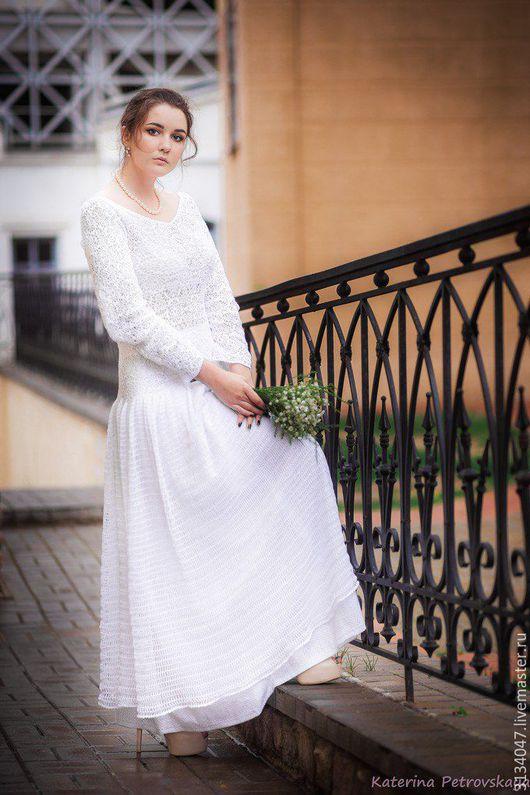 Платья ручной работы. Ярмарка Мастеров - ручная работа. Купить Платье № II. Handmade. Белый, невеста