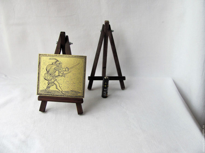 Статуэтки ручной работы. Ярмарка Мастеров - ручная работа. Купить гравюра. Handmade. Миниатюра, сувениры и подарки, травление металла, латунь