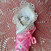 Народная кукла ручной работы. Ярмарка Мастеров - ручная работа Пеленашка - народный оберег для младенцев и материнской силы.. Handmade.