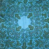 Винтаж handmade. Livemaster - original item Delicate handkerchief with pattern, silk vintage China. Handmade.
