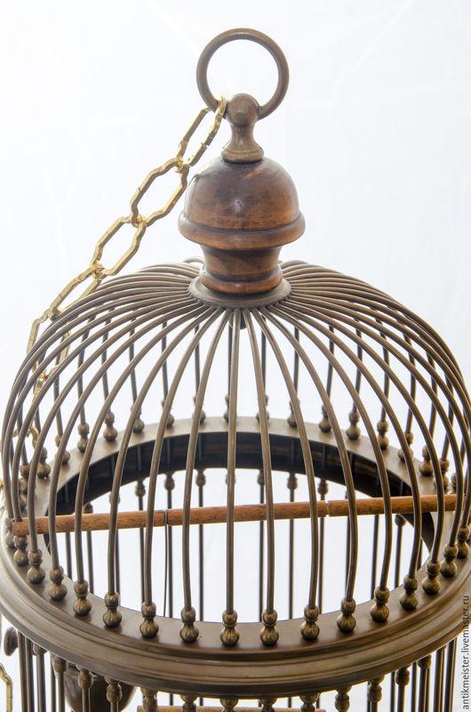 Винтажные предметы интерьера. Ярмарка Мастеров - ручная работа. Купить Птичья клетка Шик Бохо шик стиль старина деко патина меди. Handmade.