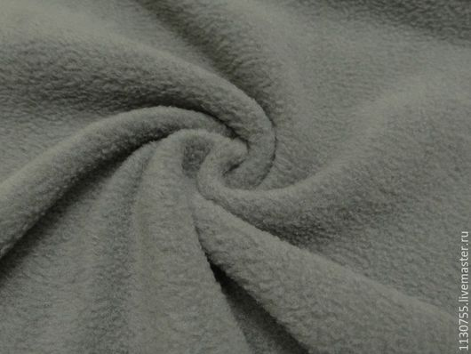 Шитье ручной работы. Ярмарка Мастеров - ручная работа. Купить Новинка ! Ткань флис полартек  серый 390 гр.. Handmade.