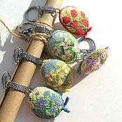 Аксессуары ручной работы. Ярмарка Мастеров - ручная работа Цветочная поляна брелок для ключей подарок девушке подарок девочке. Handmade.