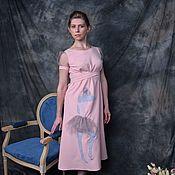 Платья ручной работы. Ярмарка Мастеров - ручная работа Платье Adagio розовое. Handmade.
