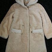 Outer clothing handmade. Livemaster - original item Outerwear: Mutton fur coat children`s. Handmade.