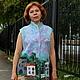 Felted vest 'Hometown', Vests, Verhneuralsk,  Фото №1