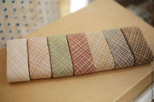 Шитье ручной работы. Ярмарка Мастеров - ручная работа. Купить Косая бейка   Японский фактурный хлопок 7 видов. Handmade.