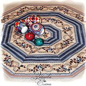 Для дома и интерьера ручной работы. Ярмарка Мастеров - ручная работа салфетка лоскутная Прованс со скатертью. Handmade.