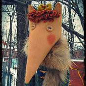 Куклы и игрушки ручной работы. Ярмарка Мастеров - ручная работа Лиса ФАИНА. Handmade.