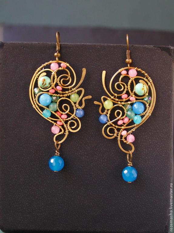 The Earrings Are A Little Slice Of Heaven, Earrings, St. Petersburg,  Фото №1