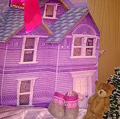 """Кукольные домики ручной работы. Ярмарка Мастеров - ручная работа Кукольный домик-сумка """"ЗОЛУШКА"""". Handmade."""