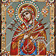 Mother of God Softener of evil hearts, Patterns for embroidery, Kursk,  Фото №1