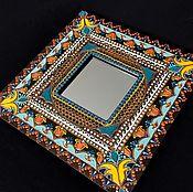 Для дома и интерьера ручной работы. Ярмарка Мастеров - ручная работа Зеркало интерьерное Lily. Handmade.