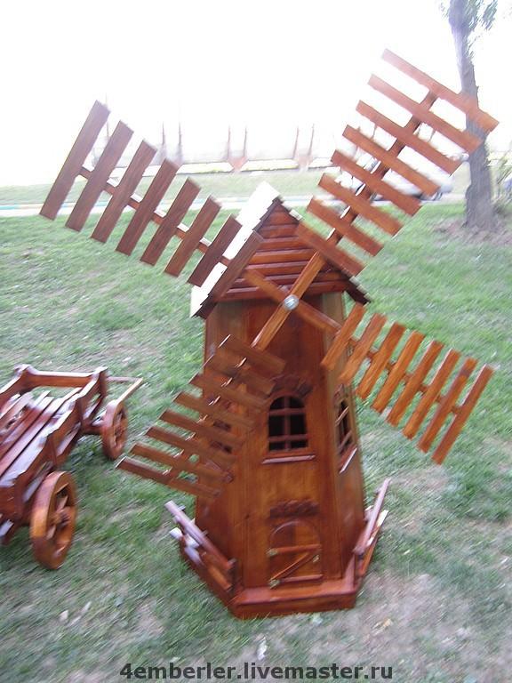 Поделки из дерева ветряная мельница 93