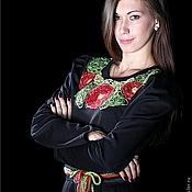 """Одежда ручной работы. Ярмарка Мастеров - ручная работа Платье """"Алые маки"""". Handmade."""