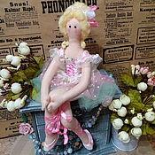 Куклы и игрушки ручной работы. Ярмарка Мастеров - ручная работа Кукла интерьерная Тильда Балерина. Handmade.