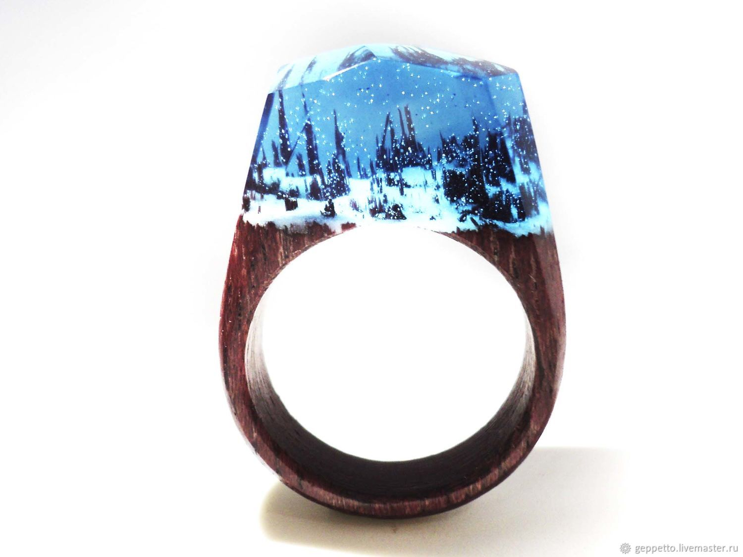 Wooden ring Enchanted forest, Rings, Kostroma,  Фото №1