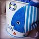 """Подарки для новорожденных, ручной работы. Композиция из детской одежды """"Морское приключение"""". Мария (bbshower). Ярмарка Мастеров. Букет из одежды"""