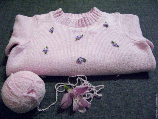 """Одежда для девочек, ручной работы. Ярмарка Мастеров - ручная работа. Купить Кофточка """"Цветочек"""". Handmade. Джемпер для девочки"""