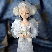 Куклы и игрушки ручной работы. Ярмарка Мастеров - ручная работа Мечтательный ангелочек. Handmade.