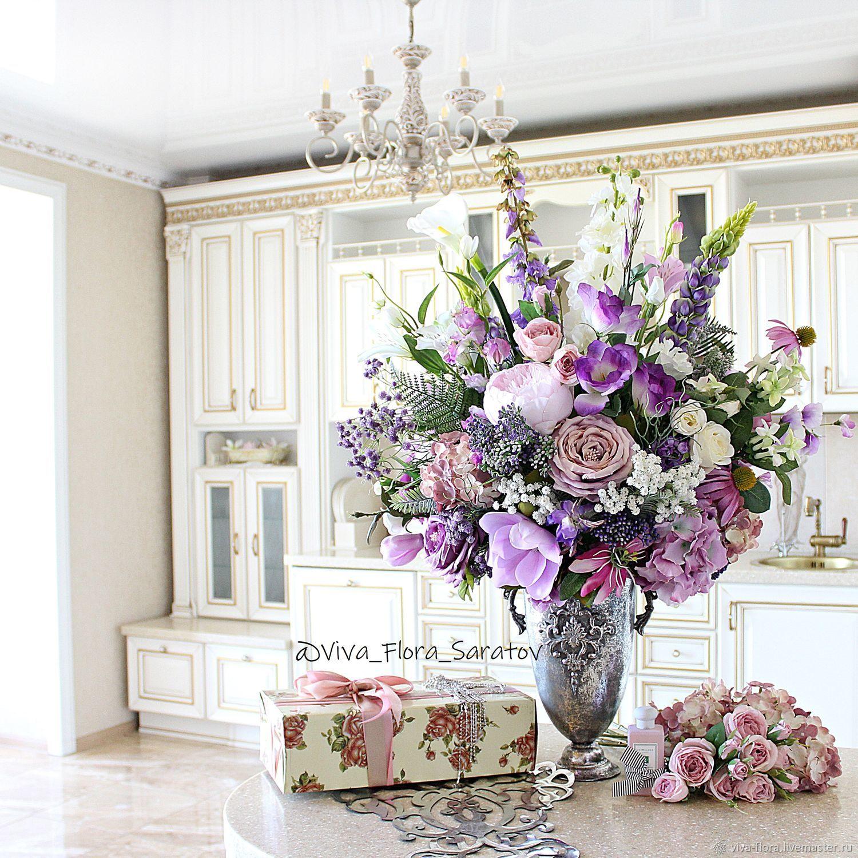 """Букет цветов в вазе """"Ясмина"""", Композиции, Энгельс, Фото №1"""