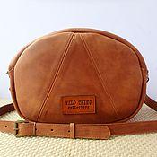 Сумки и аксессуары handmade. Livemaster - original item handbag women`s genuine leather wild thing. Handmade.