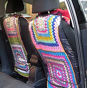 Сувениры и подарки ручной работы. Ярмарка Мастеров - ручная работа Защитный чехол на сиденье машины. Handmade.